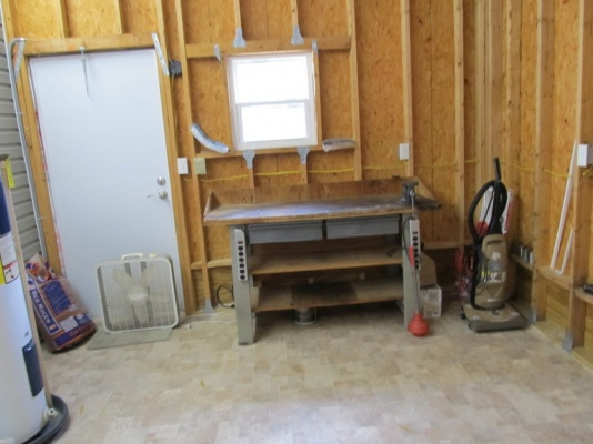 37502 Martindale Avenue,  Shed with Workbench